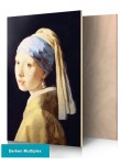 Girl with pearl of Johannes Vermeer